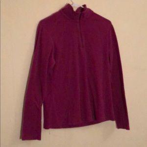 Columbia 1/4 zip pullover women's L
